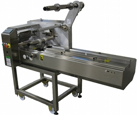 compact horrizontal wrapping machines, wrappers for special packaging