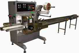 horrizontal wrapping machines, wrappers for special packaging
